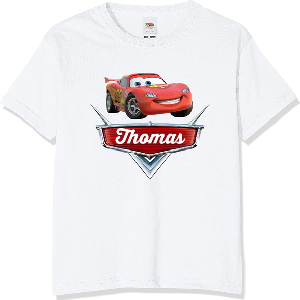 Personalised Cars T-shirt