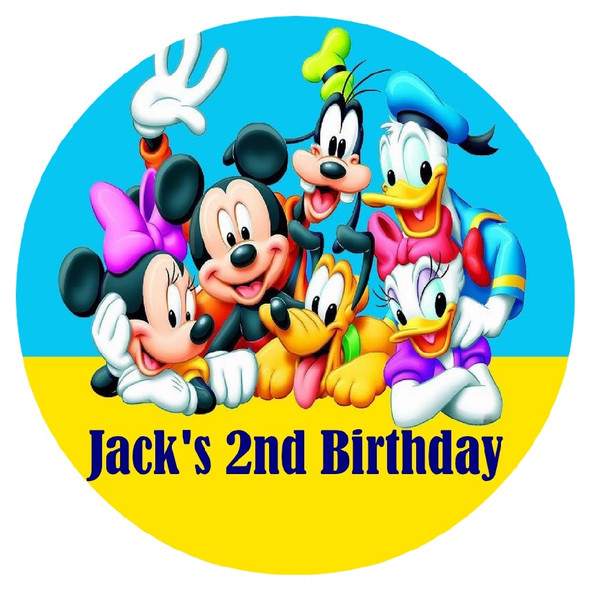 Personalised Mickey Mouse & Friends Pinata