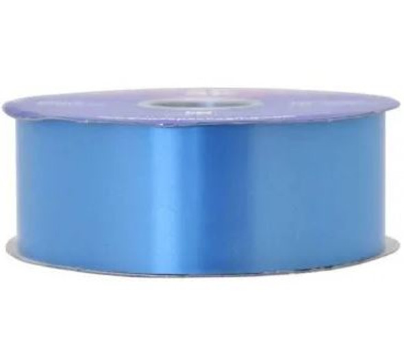 Azure Blue Polypropylene Ribbon