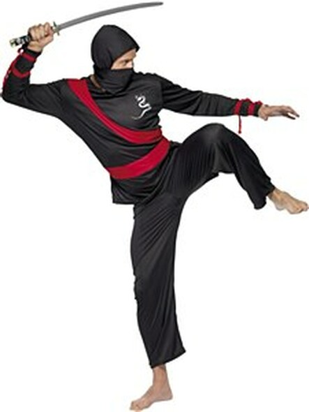 Ninja Warrior Costume