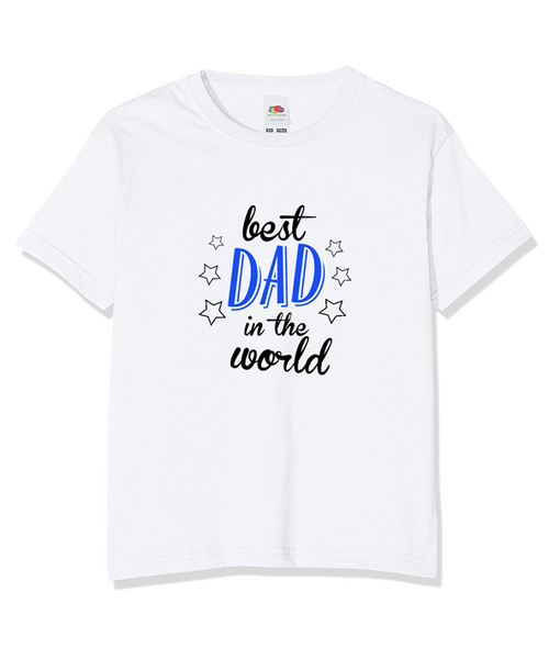Best Dad in the World T-shirt