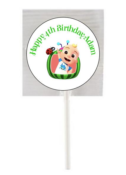 15PK Cocomelon JJ Lollipops