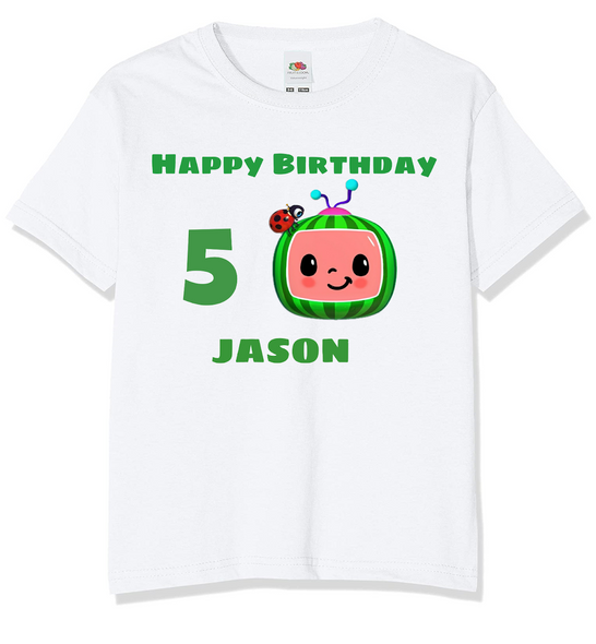 Personalised Cocomelon T-shirt