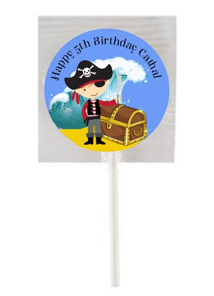 Pirate Ahoy Lollipops