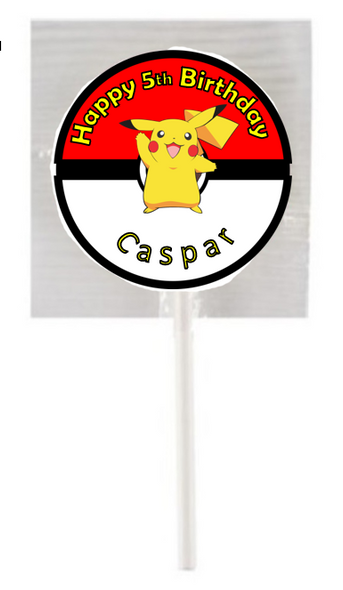 pokemon, pikatchu lollipops