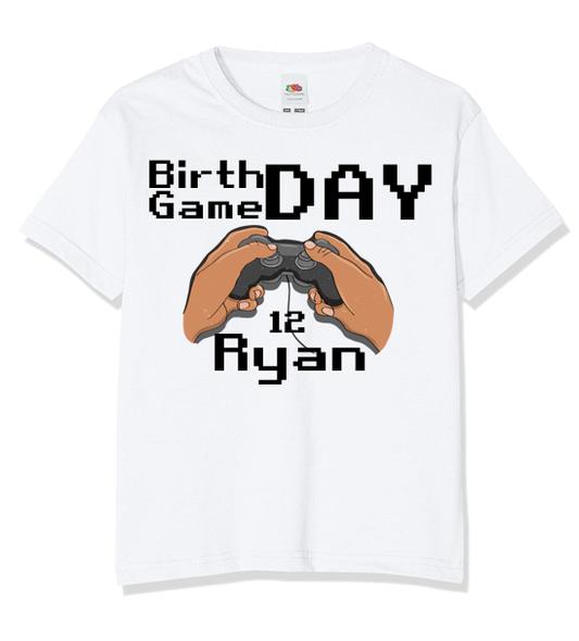 Personalised Gamer Controller T-shirt