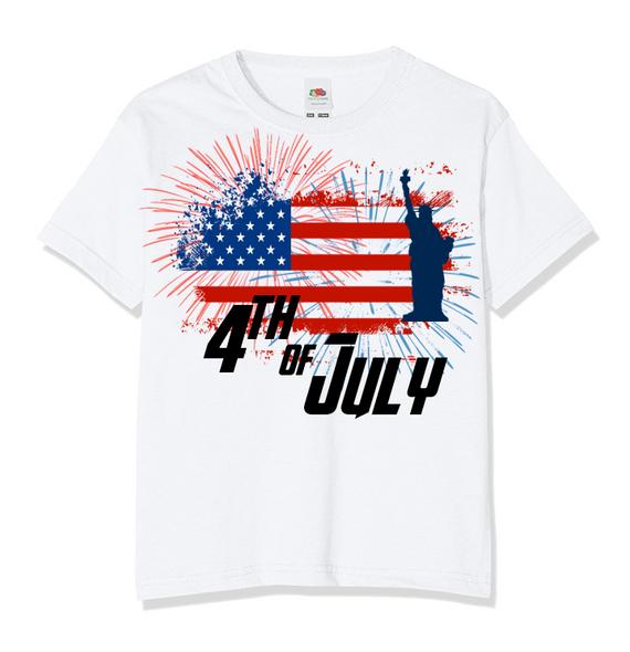 Kids 4th of July T-Shirt