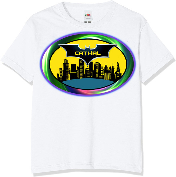 Personalised Batman City T-Shirt