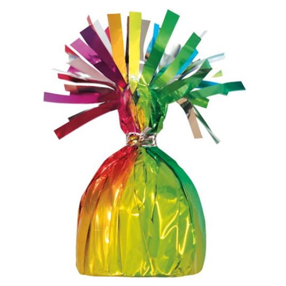 Rainbow Helium Balloon Weight