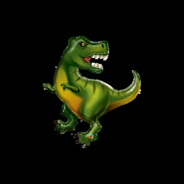 T-rex Dinosaur SuperShape Foil Balloon