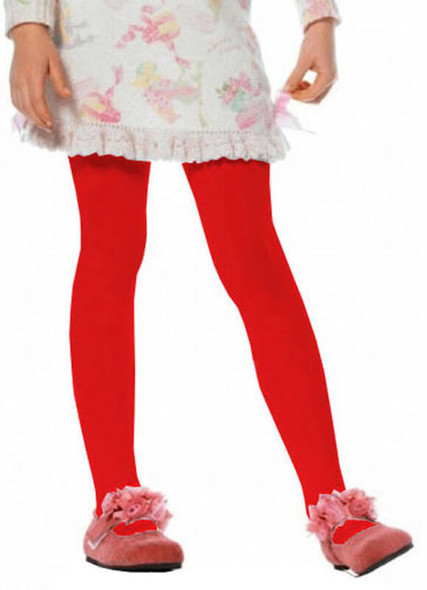 Kids Red Tights