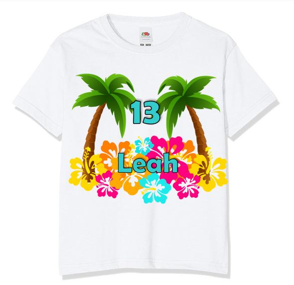 Personalised Hawaii T-Shirt