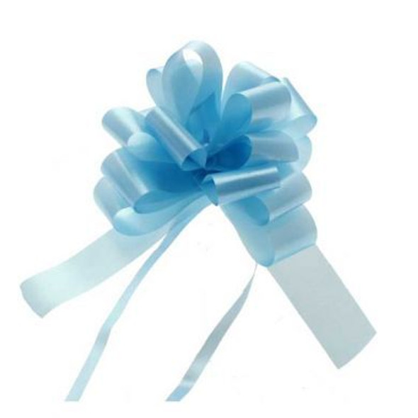30mm Baby Blue Pull Bow