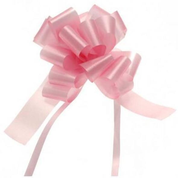 30mm Baby Pink Pull Bow Ribbon