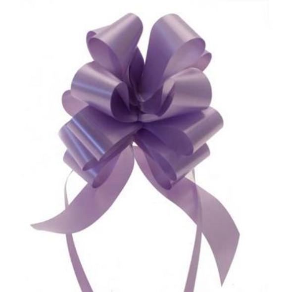 30mm Purple Pull Bow Ribbon