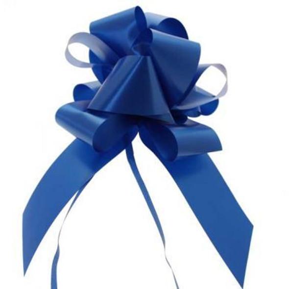50mm Royal Blue Pull Bow Ribbon