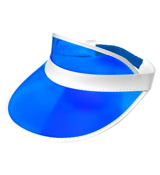 Blue Sun Visor Hat