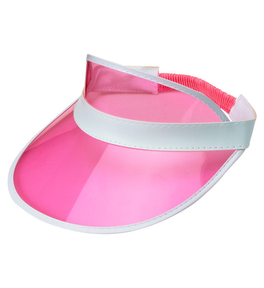 Pink Sun Visor Hat