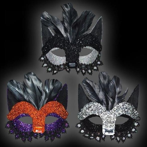 Masquerade Cat Mask