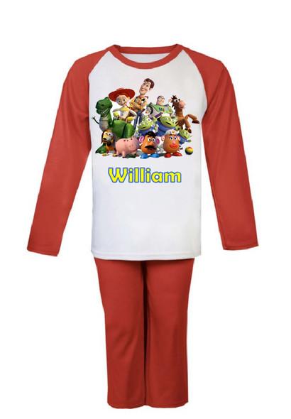Personalised Toy Story Pjs
