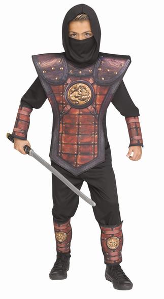 Golden Leather Ninja Costume