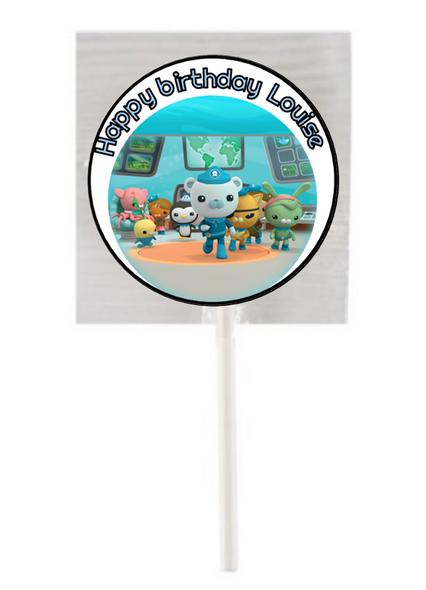 15PK Octonauts Lollipops