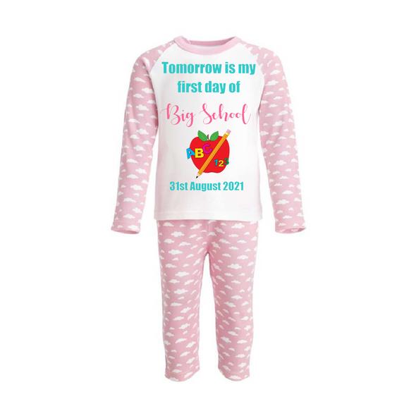 Back to School Girls Pyjamas