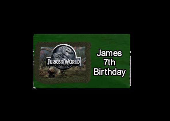 Jurassic World Chocolate Bars (7 Pack)