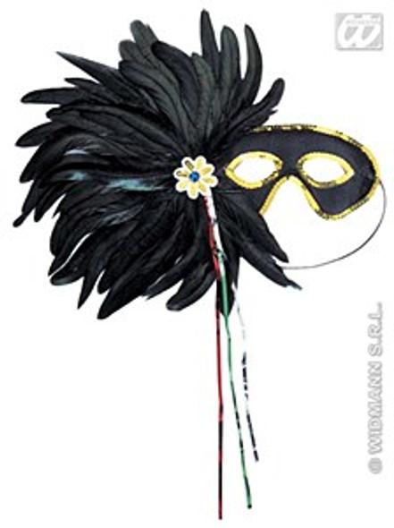 Black Gala Eyemask