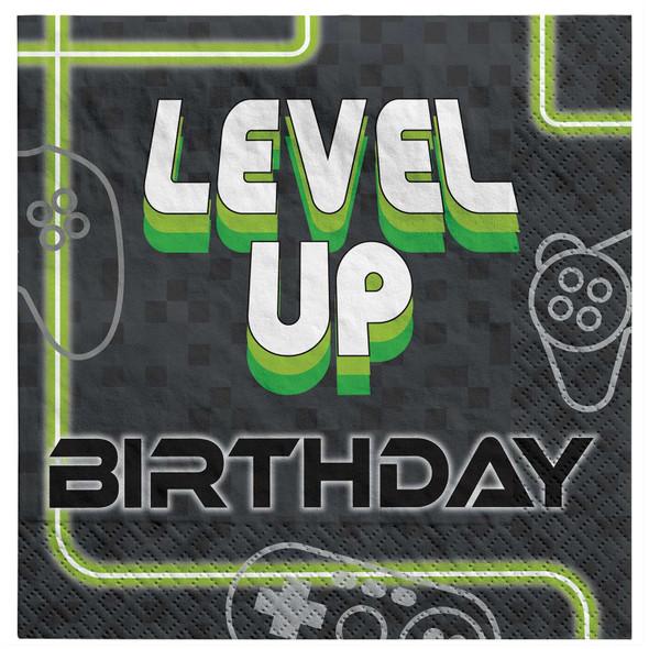 Level Up Party Napkins
