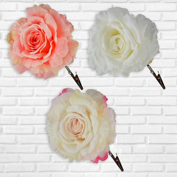 Clip On Rose