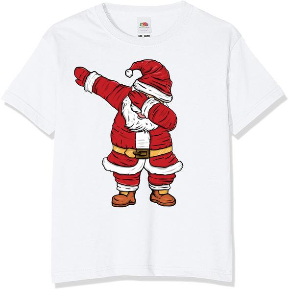 Dabbing Santa Christmas T-Shirt