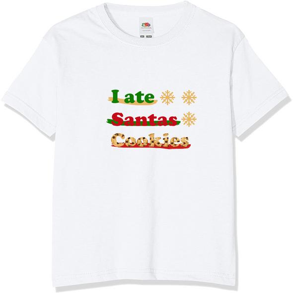 I Ate Santas Cookies T-Shirt