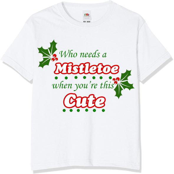 Mistletoe Christmas T-Shirt,