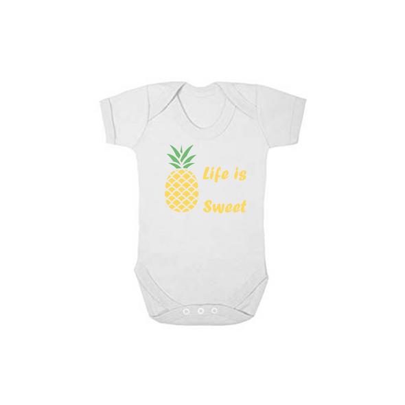 Life is Sweet Baby Vest