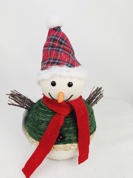 Winter Snowman Decoration