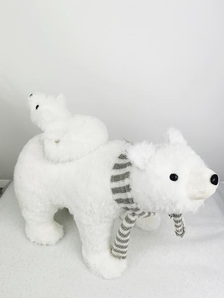 Parent and Child Polar Bear Decoration