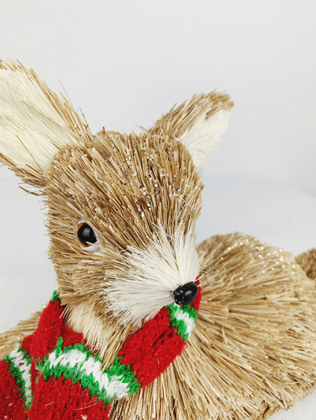 Christmas Mammy Deer Decoration Close Up