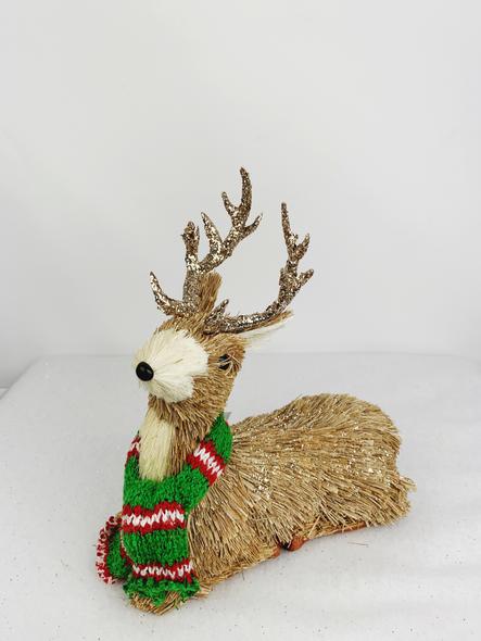 Winter Female Deer Decoration