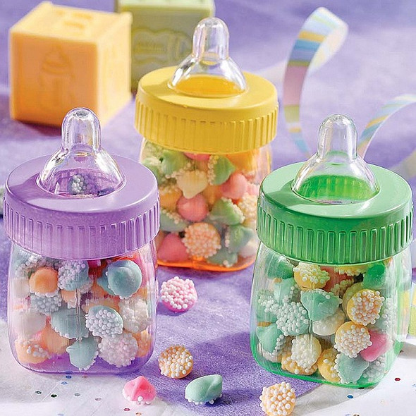 Baby Bottle Favor Containers