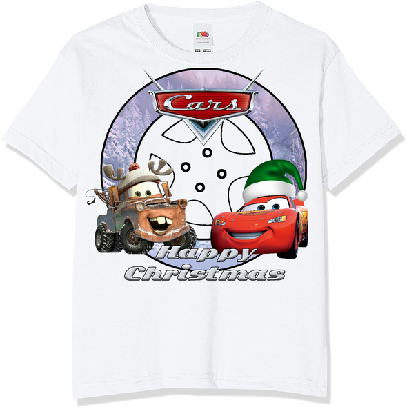Cars Christmas Kids T-Shirt