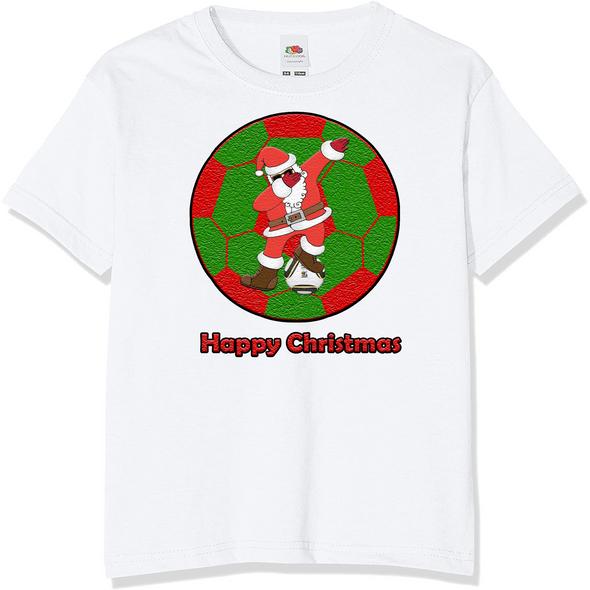 Santa Soccer Christmas T-Shirt,