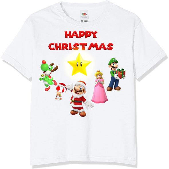 Super Mario Christmas T-Shirt