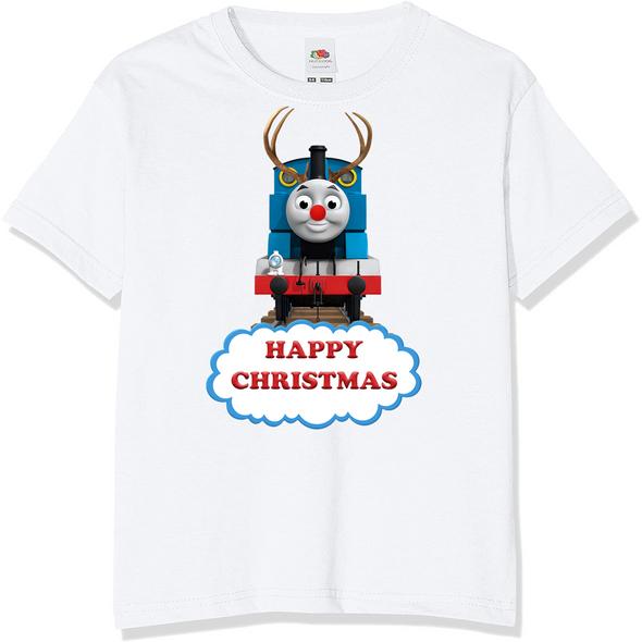 Thomas The Tank Engine Christmas T-Shirt,
