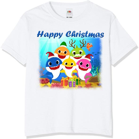 Baby Shark Christmas Kids T-Shirt