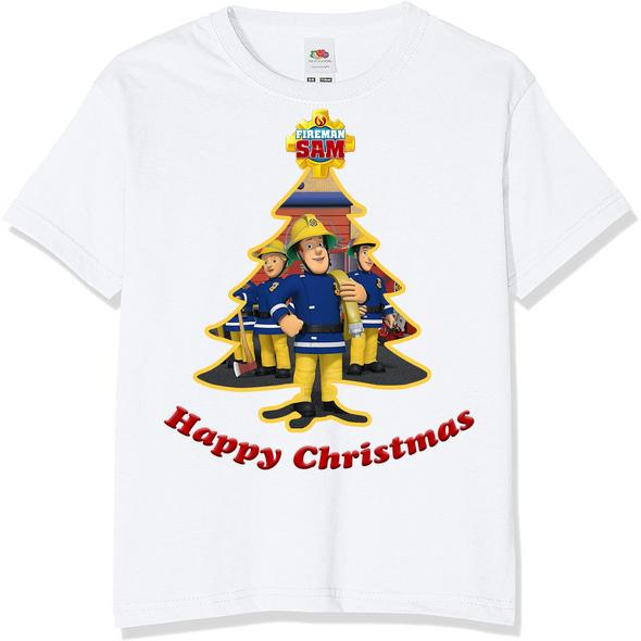 Fireman Sam Christmas Kids T-Shirt