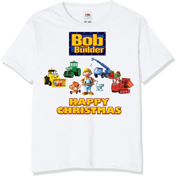 Bob The Builder Christmas T-Shirt