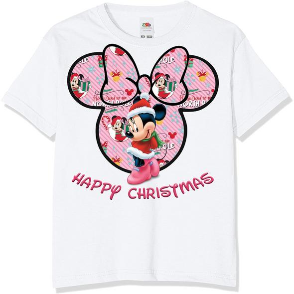 Minnie Mouse Christmas Kids T-Shirt,