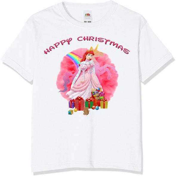 Pink Princess Christmas T-Shirt