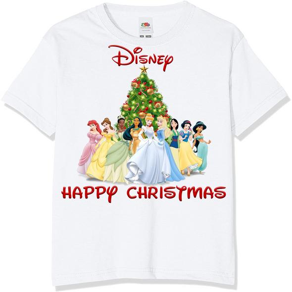 Disney Princess Christmas T-Shirt,